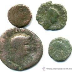 Monedas Imperio Romano: 4 MONEDAS ROMANAS. Lote 47071851