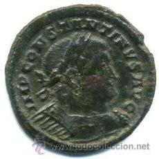 Monedas Imperio Romano: CONSTANTINO I, FOLIS 23 M/M REVERSO SOLI INVICTO COMITI, CECA (P TR) TREVERI 1ª OFICINA. Lote 47413229