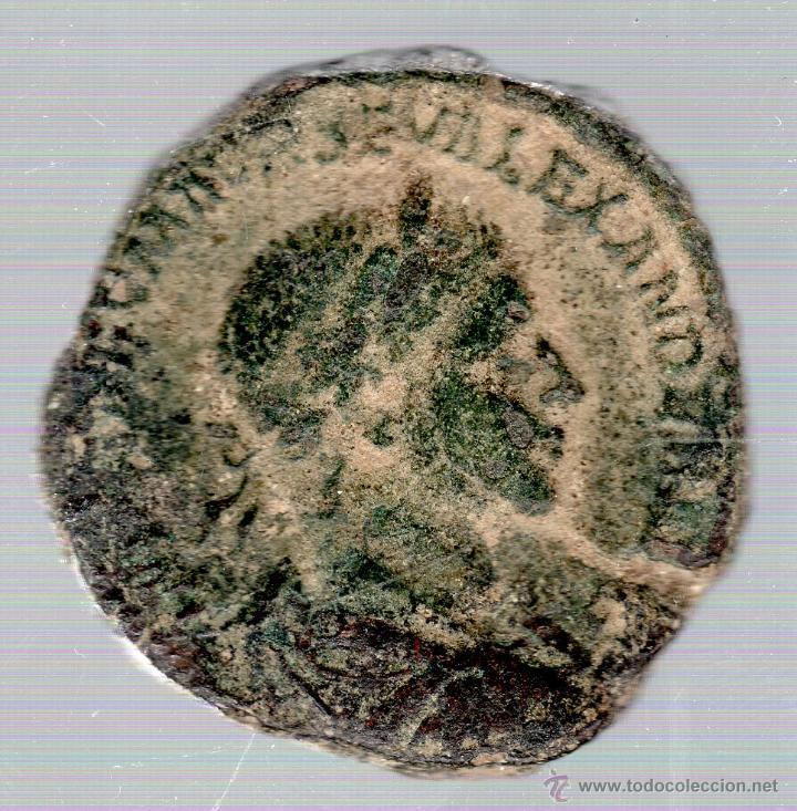 SESTERCIO. ALEJANDRO SEVERO. (Numismática - Periodo Antiguo - Roma Imperio)