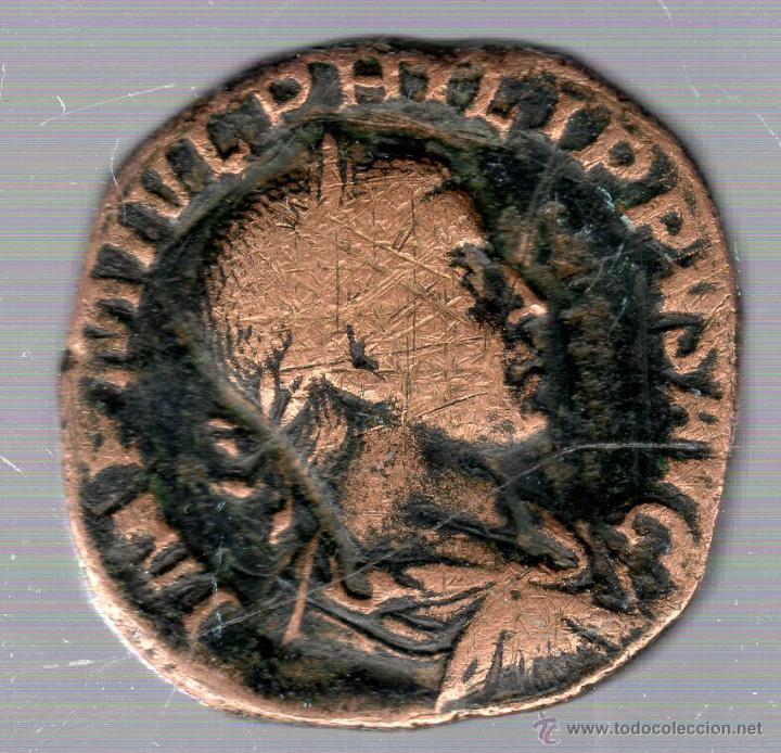 SESTERCIO FILIPUS. (Numismática - Periodo Antiguo - Roma Imperio)