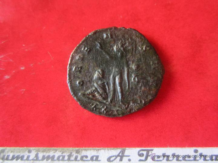 Monedas Imperio Romano: Imperio romano. antoniniano de Aureliano. 270/275. #mn - Foto 2 - 49298406