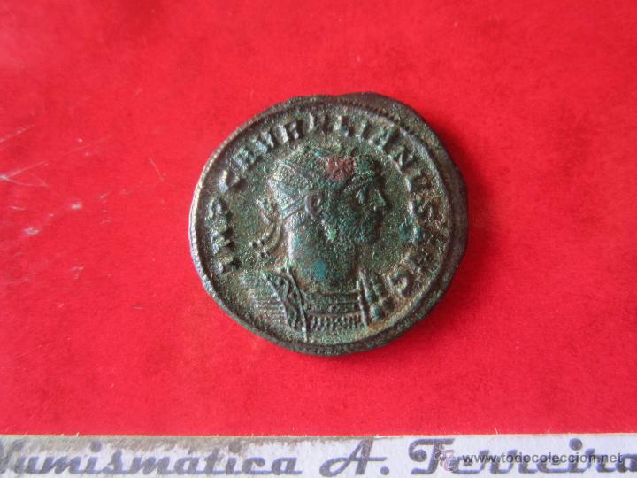IMPERIO ROMANO. AURELIANO DEL IMP. AURELIANO. AÑO 270/275. #MN (Numismática - Periodo Antiguo - Roma Imperio)