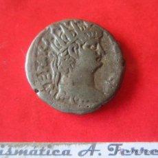 Monedas Imperio Romano: IMPERIO ROMANO. TETRADRACMA COLONIAL DE NERON. SYRIA. 54/68. #MN. Lote 49314251