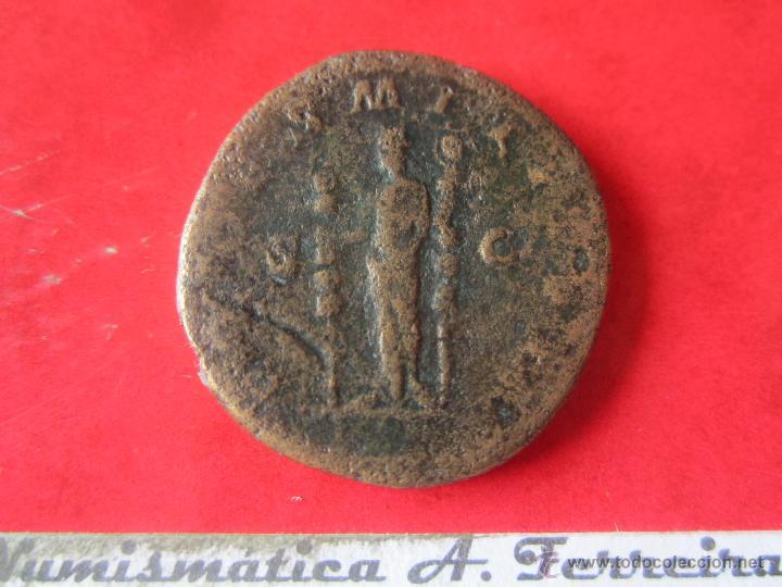 Monedas Imperio Romano: Imperio romano. sextercio de Maximino I. 235/238 dc. #mn - Foto 2 - 49332304