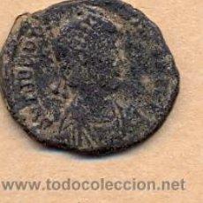 Monedas Imperio Romano: BRO 245 - MONEDA ROMANA IMPERIO ANVERSO BUSTO REVERSO CON FIGURA ESTILIZADA. Lote 51694428