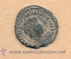 BRO 250 - MONEDA ROMANA IMPERIO ANVERSO BUSTO REVERSO CON FIGURA ESTILIZADA (Numismática - Periodo Antiguo - Roma Imperio)