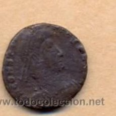 Monedas Imperio Romano: BRO 251 - MONEDA ROMANA IMPERIO ANVERSO BUSTO REVERSO CON FIGURA ESTILIZADA. Lote 51710341