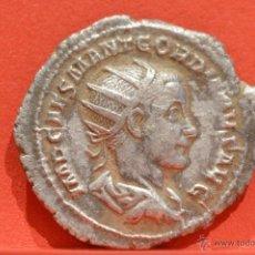 Monedas Imperio Romano: GORDIANO III ANTONINIANO 238 239 D.C ROMA PLATA EXCELENTE CALIDAD. Lote 52783638