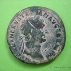 Monedas Imperio Romano: SESTERCIO ROMANO DE NERVA TRAJANO. Lote 53260665