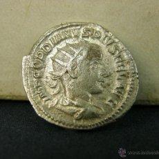 Monedas Imperio Romano: ANTONINIANO ROMANO ROMA PLATA GORDIANO PIO. Lote 53306242