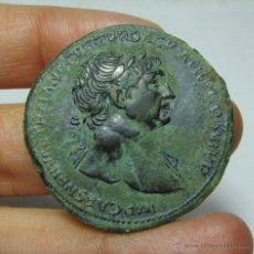 Monedas Imperio Romano: PRECIOSO SESTERCIO TRAJANO. SPQR. OPTIMO PRINCIPI. SC. ARAB.ADQVIS. Lote 54931509