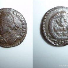 Monedas Imperio Romano: JULIANO AE 18. CONSTANTINOPLA. (355-363). Lote 56018895