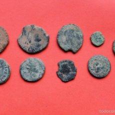 Monedas Imperio Romano: LOTE MONEDAS BAJO IMPERIO ROMANO Y OTRAS. Lote 56155577