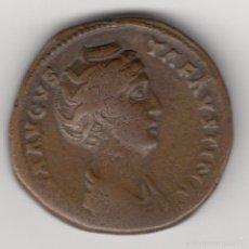 Monedas Imperio Romano: SESTERCIO DE FAUSTINA MADRE. DIVA AUGUSTA FAUSTINA. ASAUG. Lote 56210213