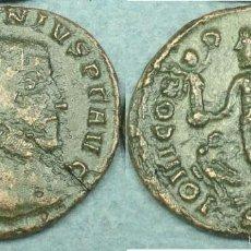 Monedas Imperio Romano: 086 C-INTERESANTE FOLLIS DE LICINIVS I--308-324 D.C.-ALEJANDRÍA--LOVI CONSERVATORI--IMPERIO ROMANO. Lote 56918940
