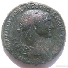 Monedas Imperio Romano: EXTRAORDINARIO SESTERCIO. TRAJANO.. Lote 59484779