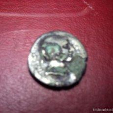 Monedas Imperio Romano: DENARIO DE BRONCE FORRADO EN PLATA. OCTAVIO. TEMPLO TETRASTILO. EN EL FRONTAL UNA ESTRELLA.. Lote 59609599