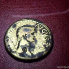 Monedas Imperio Romano: ANTONIA. DUPONDIO. ANTONIA AUGUSTA. CLAUDIO PORTANDO VASO DE LIBACIONES.. Lote 59611691