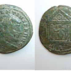 Monedas Imperio Romano: FOLLIS MAJENCIO (MAXENTIUS). ROMA. 307/308. RIC Nº 202. Lote 60257971