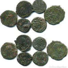 Monedas Imperio Romano: 6 MONEDAS ROMANAS, CLAUDIO I - CLAUDIO II - CONSTANTE - GALIENO - CONSTANCIO II - CONSTANTINO I. Lote 75816727