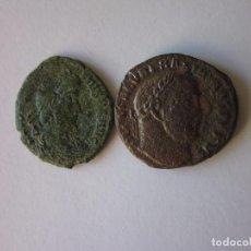Monedas Imperio Romano: FOLLIS Y CENTENIONAL. MAXIMINO II Y CONSTANCIO II.. Lote 75831339