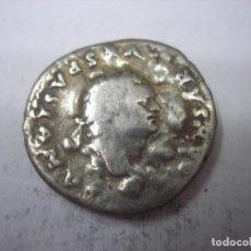 Monedas Imperio Romano: DENARIO DE PLATA DE VESPASIANO. Lote 77879217