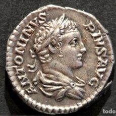 Monedas Imperio Romano: DENARIO CARACALLA. 205 D.C. ROMA - IMPERIO ROMANO EXTRAORDINARIA CONSERVACIÓN. Lote 80256077
