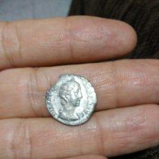 Monedas Imperio Romano: DENARIO JULIA MAMEA. VESTA. 1,4 GR.. Lote 82050536