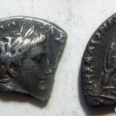 Monedas Imperio Romano: DENARIO DE AUGUSTO FRACCIONADO . Lote 83678396