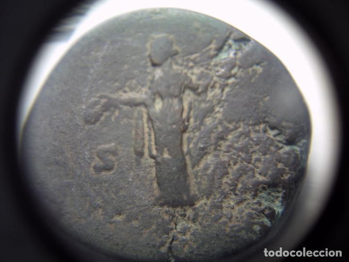 Monedas Imperio Romano: SEXTERCIO DE FAUSTINA AUGUSTA. JUNO PORTANDO PATERA Y CETRO. - Foto 2 - 83832164
