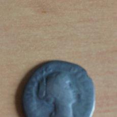 Monedas Imperio Romano: VER 39 - DENARIO ROMANO EN PLATA EMPERATRIZ FAUSTINA MEDIDAS SOBRE 18 MILIMETROS. Lote 90877700