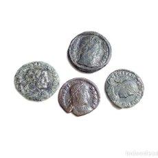 Monedas Imperio Romano: 4 MONEDAS ROMANAS BAJO IMPERIO MUY BUENA CONSERVACIÓN. Lote 93939225