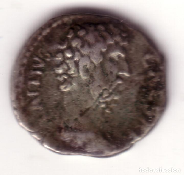 DENARIO PLATA IMPERIO ROMANO ELIO/AELIO MUY RARO (Numismática - Periodo Antiguo - Roma Imperio)