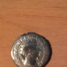 Monedas Imperio Romano: VER 63 DENARIO ROMANO CABEZA EMPERADOR REVERSO ESTATUA DENARIO MONEDA ROMANA IMPERIO EN PLATA MED. Lote 97094387