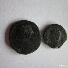 Monedas Imperio Romano: AS Y SEMIS DE COLONIA PATRICIA. AUGUSTO.. Lote 97343079
