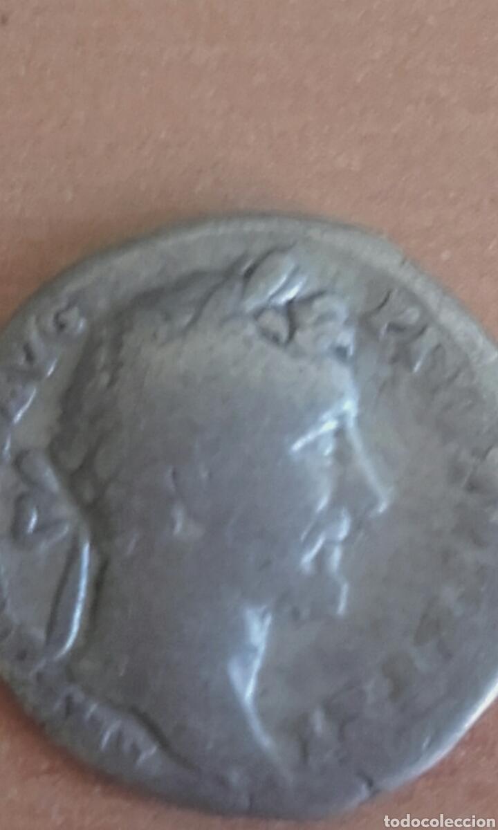 VER 81 - DENARIO ROMANO ANTONINO PIO DENARIO ANTONINO PIO MEDIDAS SOBRE 17 MILIMETROS PESO SOBRE (Numismática - Periodo Antiguo - Roma Imperio)
