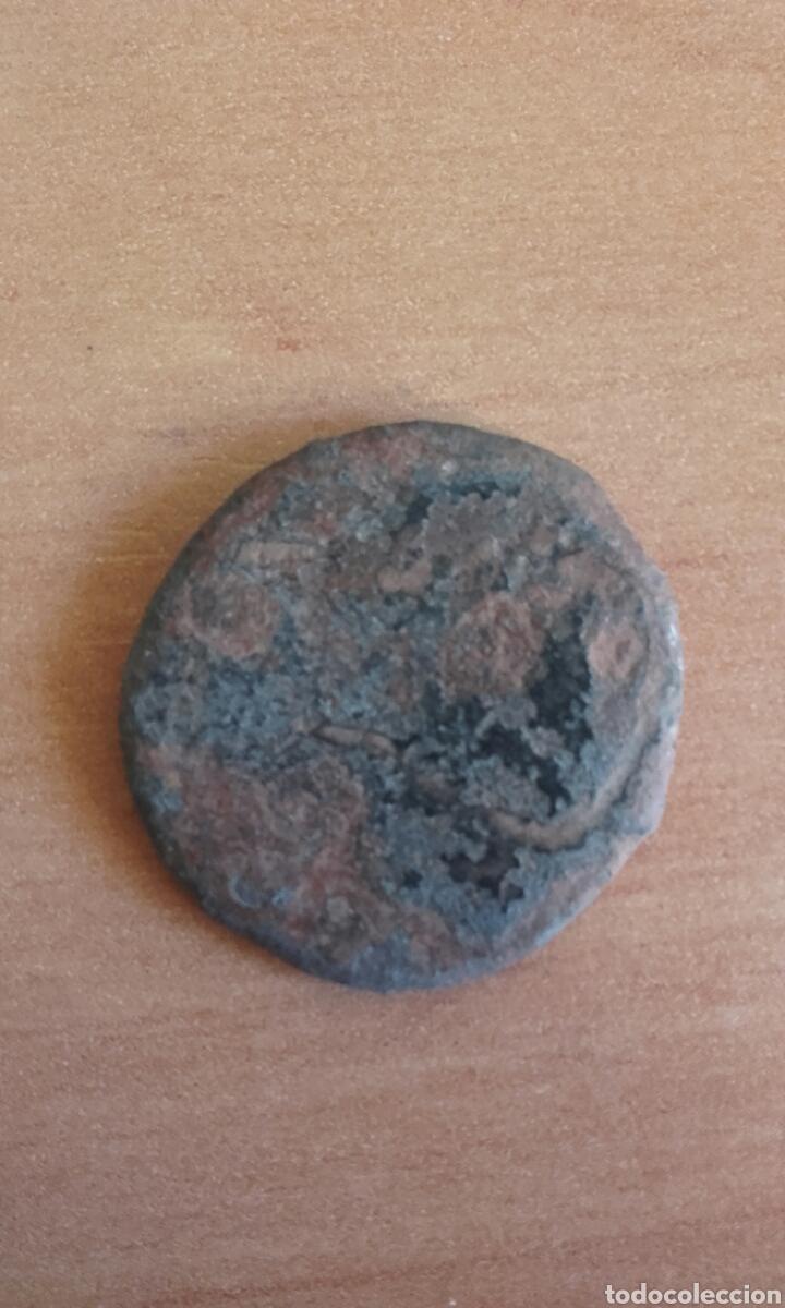 Monedas Imperio Romano: BRO 446 - MONEDA ROMANA IMPERIO ANVERSO EMPERADOR - REVERSO FIGURAS ESTILIZADA MEDIDAS SOBRE 25 M - Foto 3 - 99875139