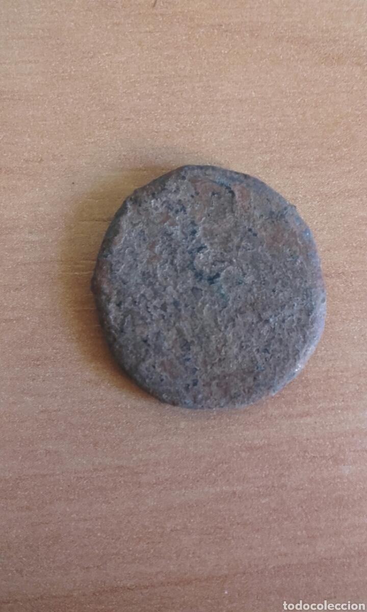 Monedas Imperio Romano: BRO 446 - MONEDA ROMANA IMPERIO ANVERSO EMPERADOR - REVERSO FIGURAS ESTILIZADA MEDIDAS SOBRE 25 M - Foto 5 - 99875139