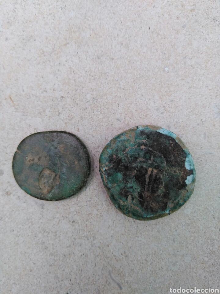 Monedas Imperio Romano: Monedas romanas. Marco Aurelio sestercio - Foto 2 - 100200996