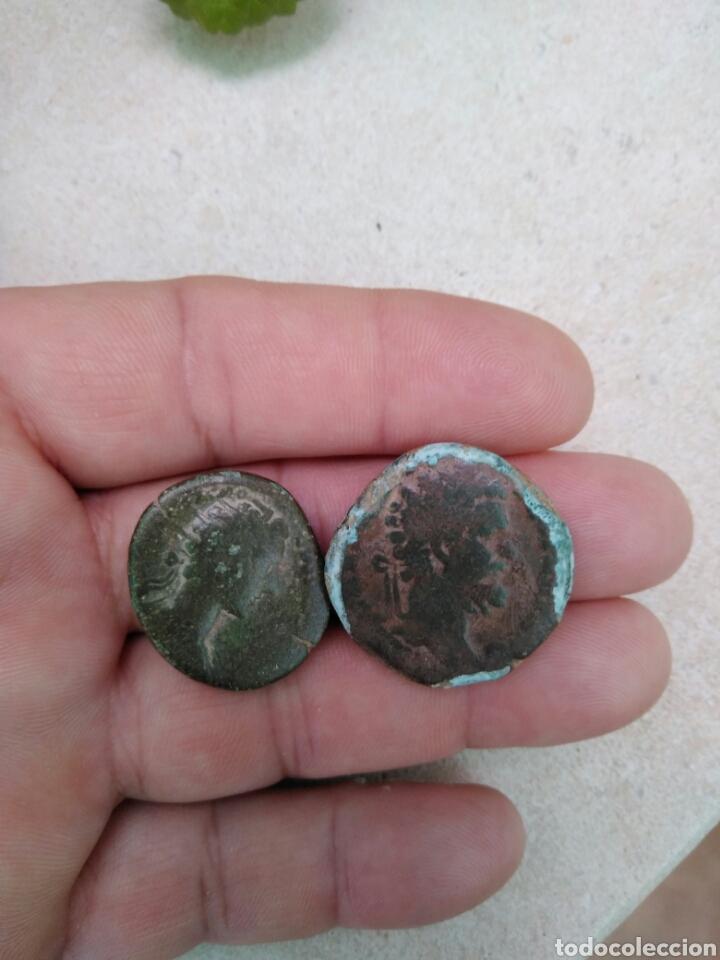 Monedas Imperio Romano: Monedas romanas. Marco Aurelio sestercio - Foto 5 - 100200996