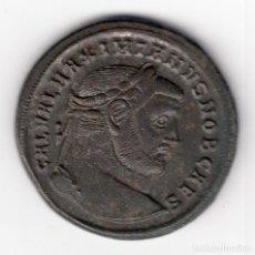 Monedas Imperio Romano: FOLLIS BRONCE IMPERIO ROMANO GALERIO (293-306) HERACLEA (TRACIA) - MUY BELLA. Lote 101184547