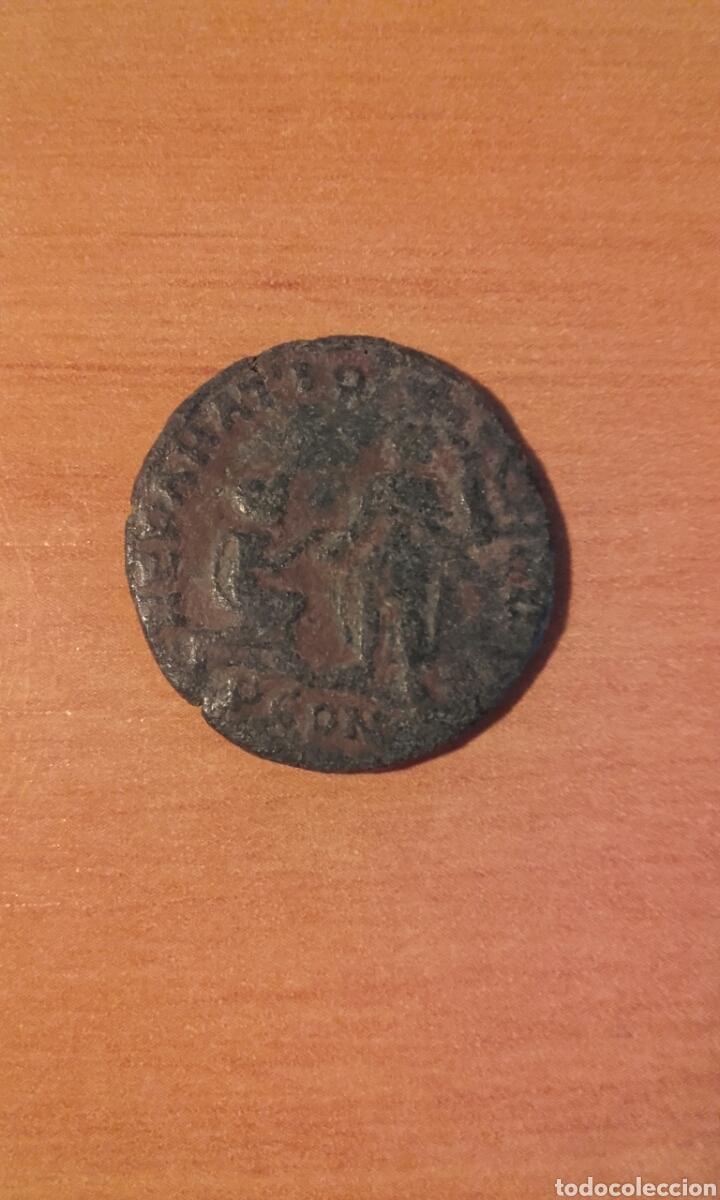 Monedas Imperio Romano: moneda 1002 roma imperio - MONEDA ROMANA DE MAXIMO - ANVERSO EMPERADOR REVERSO FIGURAS - RE - Foto 2 - 101591823