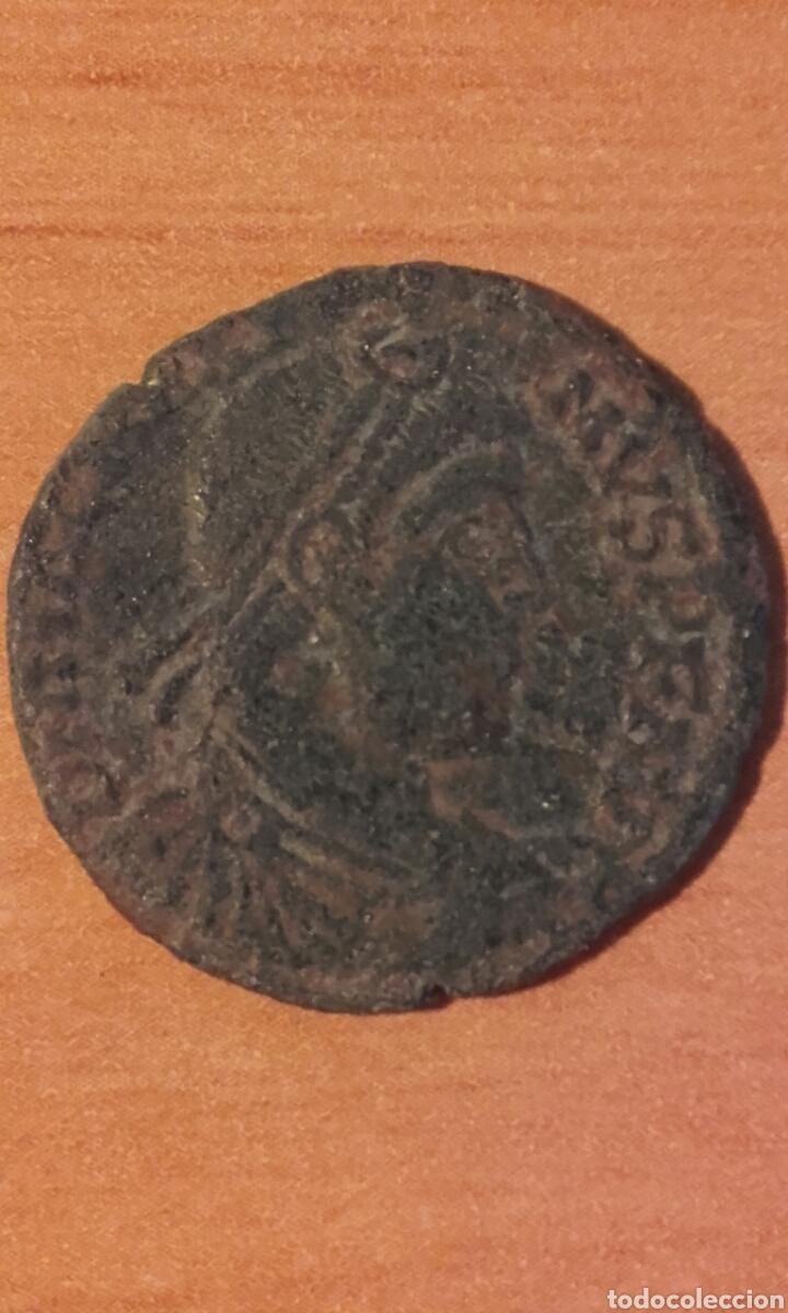 Monedas Imperio Romano: moneda 1002 roma imperio - MONEDA ROMANA DE MAXIMO - ANVERSO EMPERADOR REVERSO FIGURAS - RE - Foto 4 - 101591823