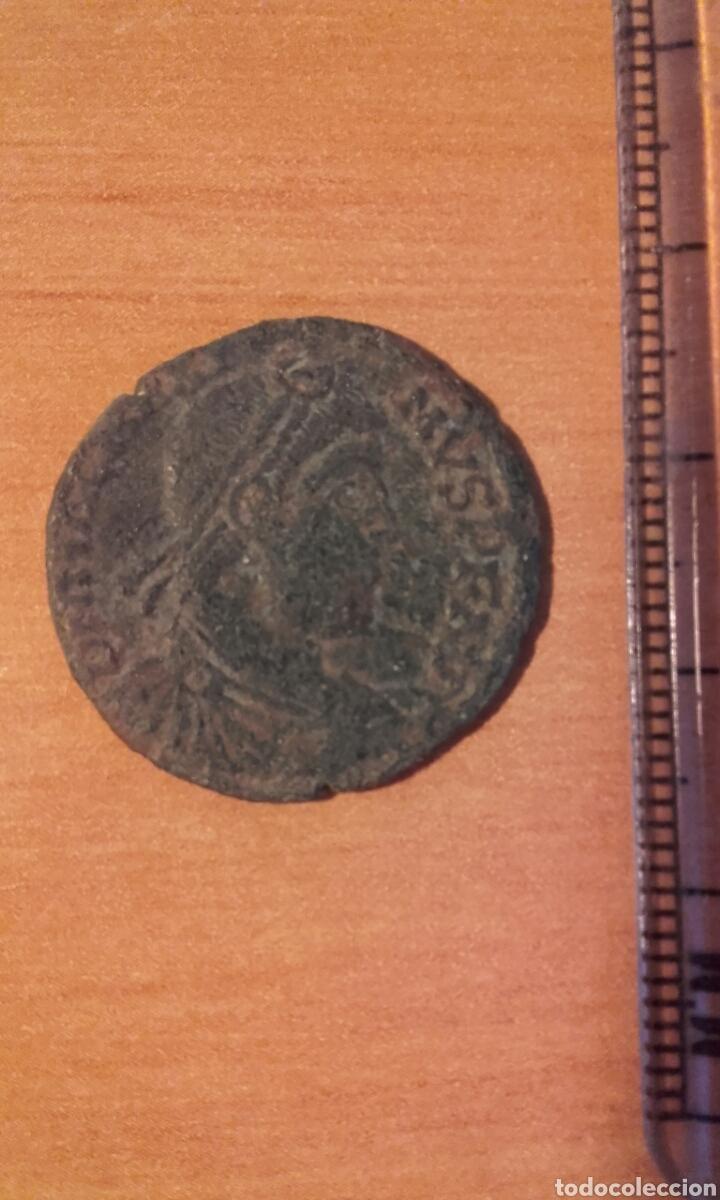 Monedas Imperio Romano: moneda 1002 roma imperio - MONEDA ROMANA DE MAXIMO - ANVERSO EMPERADOR REVERSO FIGURAS - RE - Foto 5 - 101591823