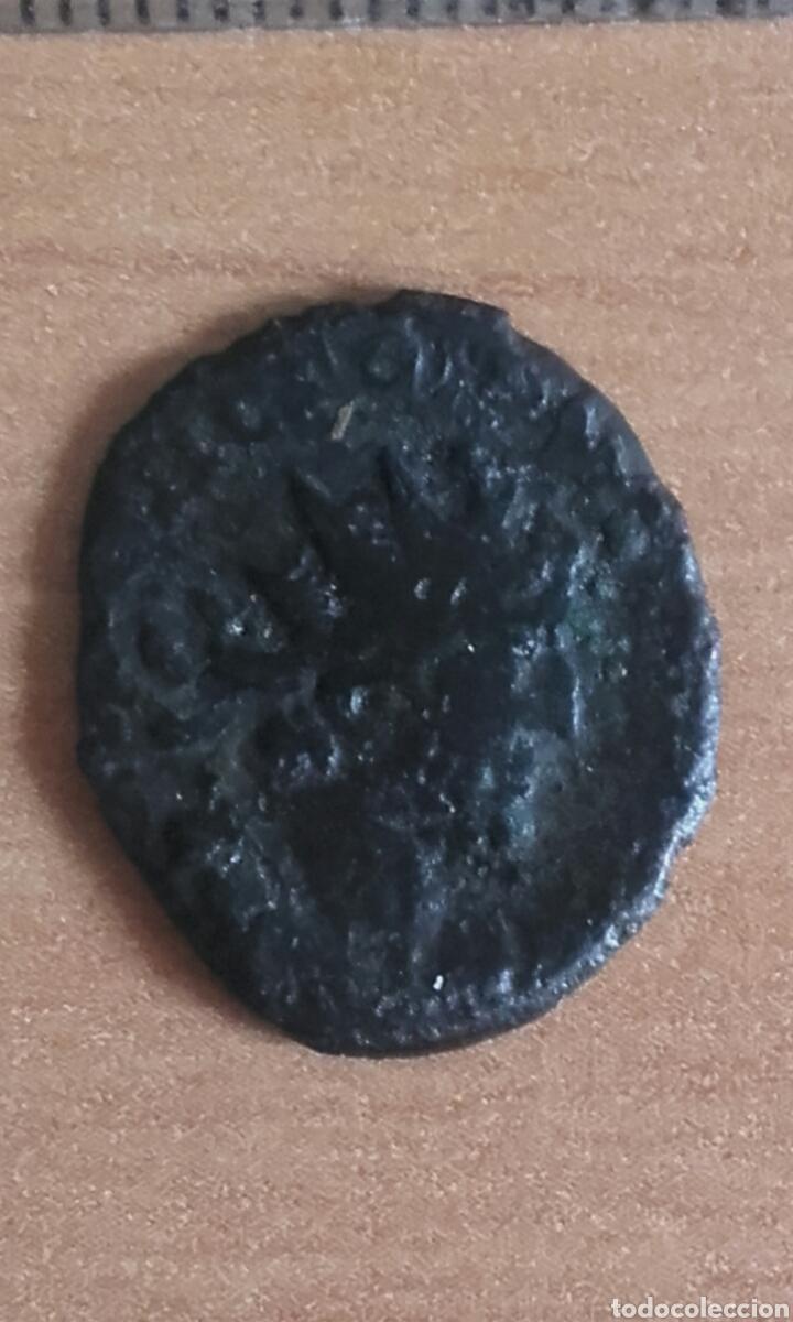 Monedas Imperio Romano: MON 1075 MONEDA ROMANA IMPERIO BUENOS DETALLES MEDIDA SOBRE 20 MILIMETROS ANVERSO EMPERADOR REV - Foto 2 - 102170243