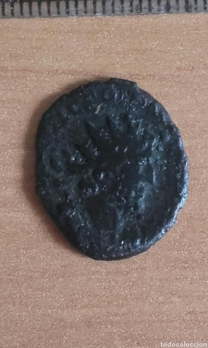 Monedas Imperio Romano: MON 1075 MONEDA ROMANA IMPERIO BUENOS DETALLES MEDIDA SOBRE 20 MILIMETROS ANVERSO EMPERADOR REV - Foto 3 - 102170243