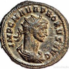 Moedas Império Romano: 21--INTERESANTE ANTONINIANO VELLÓN DEL EMPERADOR PROBUS--276-282 DC--EMISIÓN TICINUM--EXCELENTE. Lote 104066547