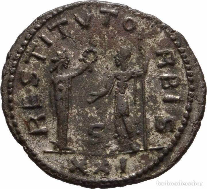 IMPERIO ROMANO! AURELIANO 270- 275! ANTIOQUIA! VELLON - ANTONINIANO! EBC/EBC+! (Numismática - Periodo Antiguo - Roma Imperio)