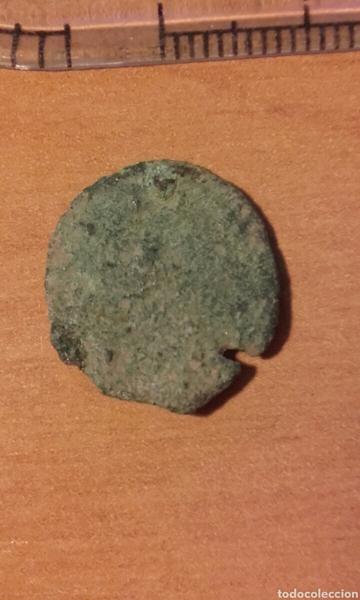 Monedas Imperio Romano: moneda 1308 - MONEDA ROMANA BAJO IMPERIO - Foto 4 - 105130759