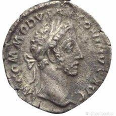 Monedas Imperio Romano: IMPERIO ROMANO! DENARIO! PLATA! CÓMODO (177 - 192 DC)! EBC+/EBC!. Lote 105617407